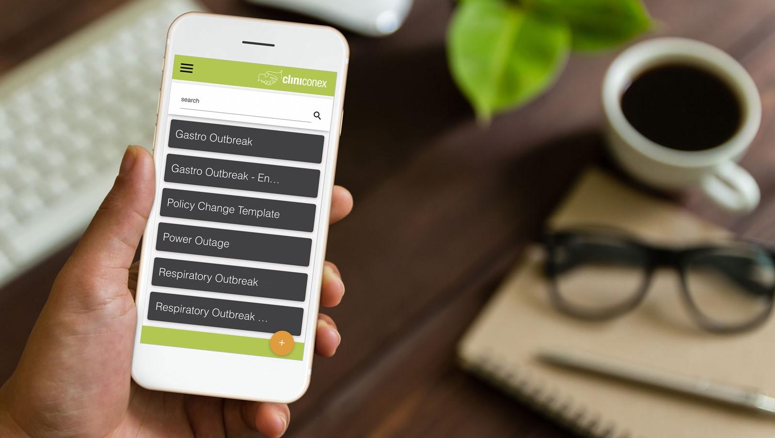 Cliniconex App